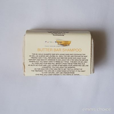 solid nourish shampoo bar