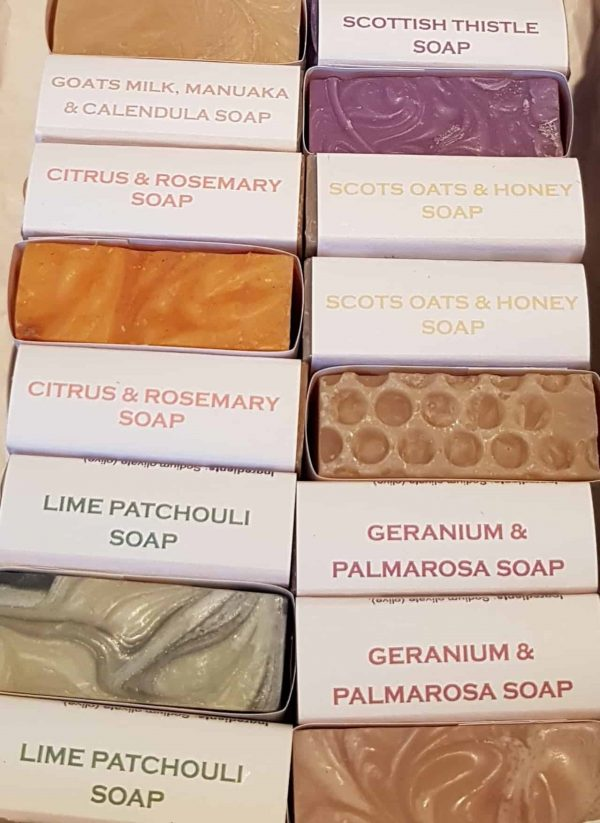 natural hand made palm oil free soap